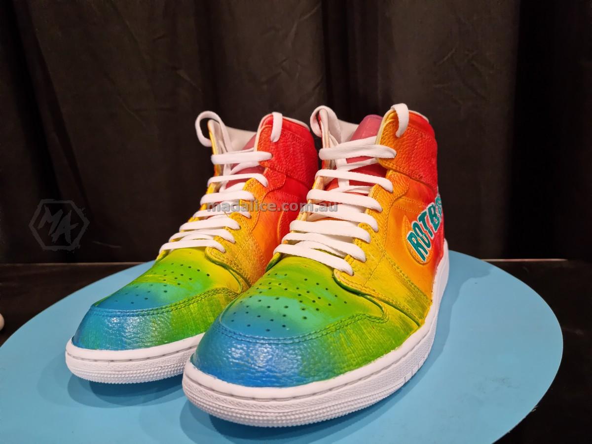 custom painted jordan 1 shoes