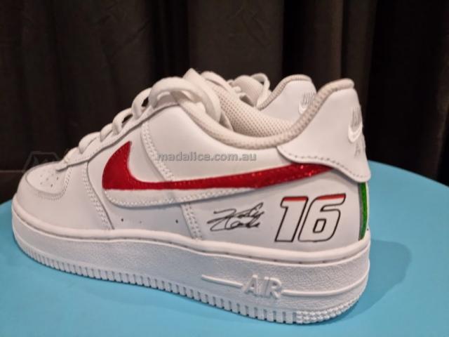 ferrari racing custom shoes