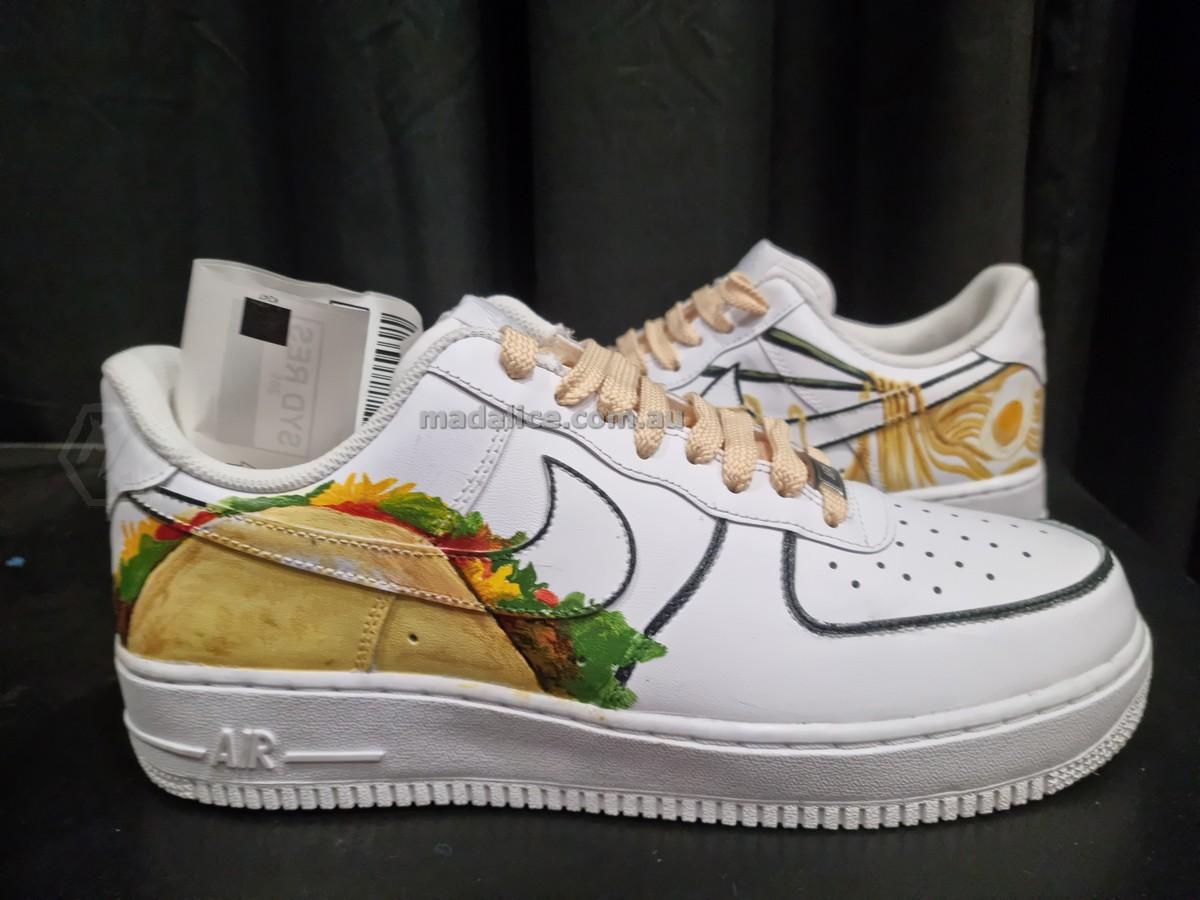 Taco custom af1 shoes