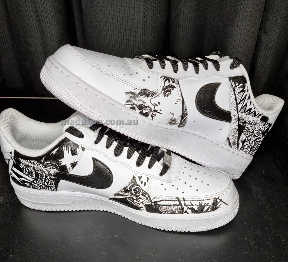custom shoes berserk