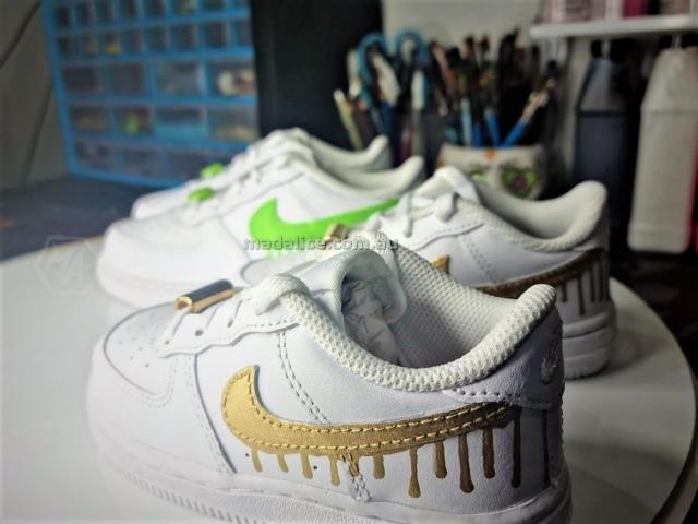 custom painted kids custom nike shoes