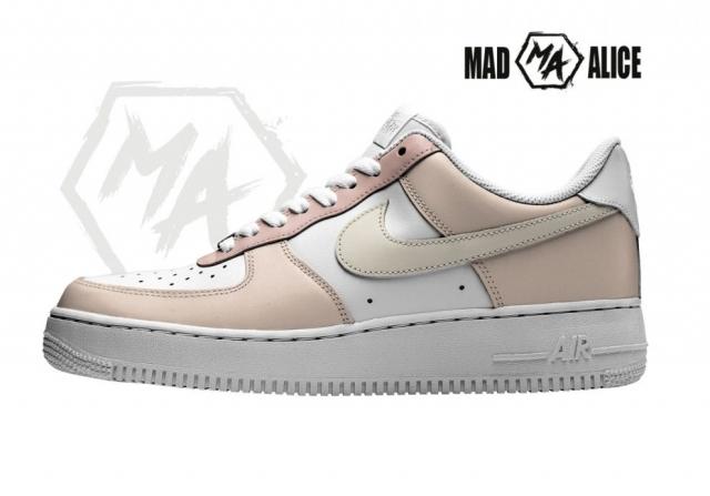 custom shoes cream beige