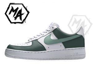 fern green af1 shoes