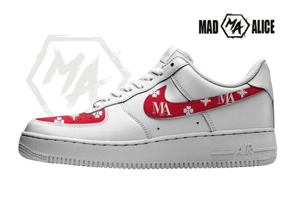 custom shoes monogram