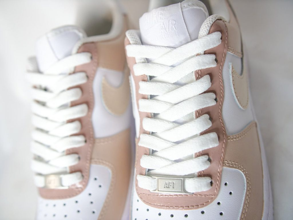 custom painted af1 shoes