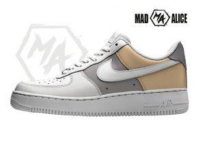 hand painted sneakers af1