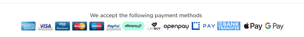 payment methods at mad alice custom kicks