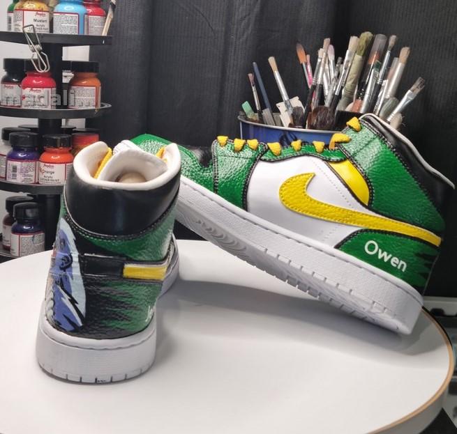 Custom Kicks Australia - hand painted shoes