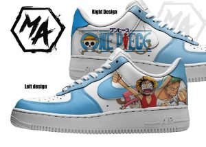 one piee customised nike shoes