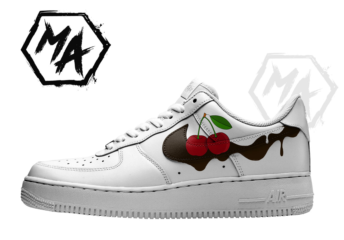 cherry sundae custom shoes