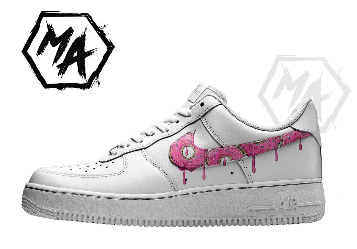 donut custom shoes