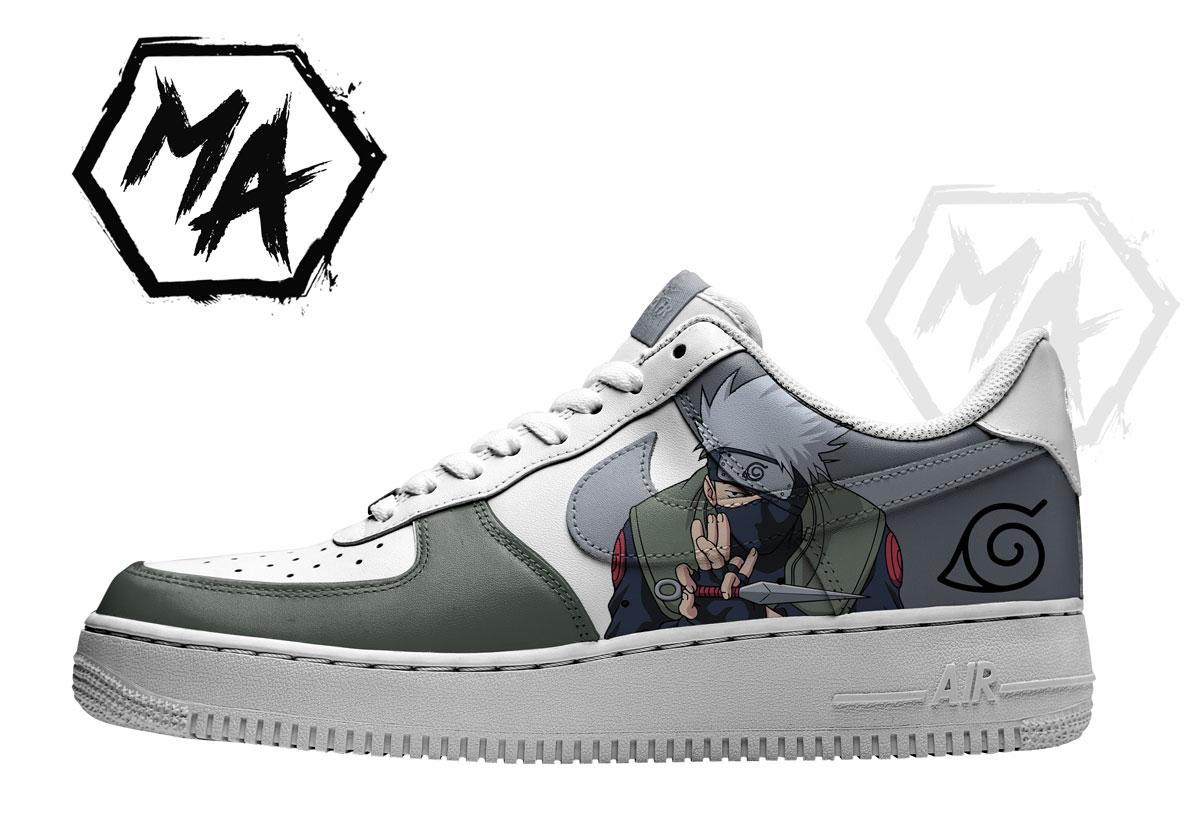 custom shoes anime