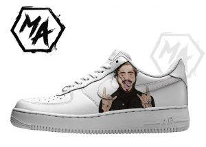posty custom af1 shoes