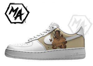 custom shoes travis