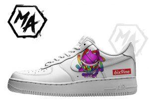 goober custom af1 shoes
