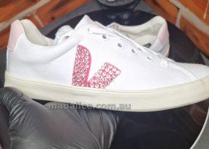 veja swarovski custom shoes