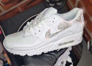air max 90 custom swarovski diamond sneakers